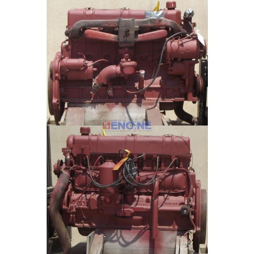 International Good Running Engine 403L , 403C 6 Cylinder GAS s/n: 4821