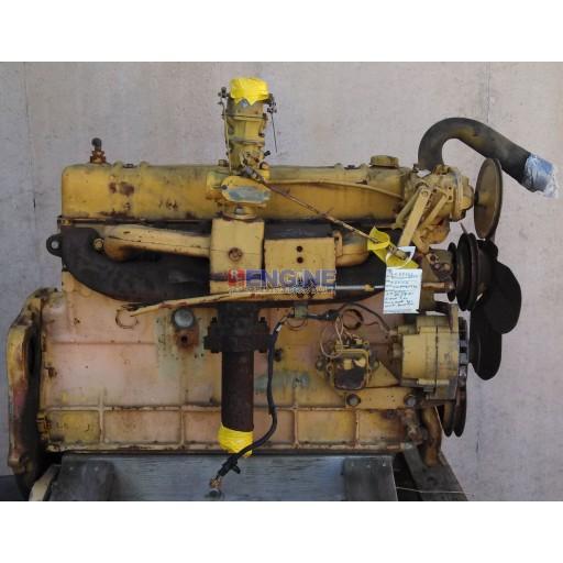 International Engine Good Running BD220 S/N: 1002851 BLOCK: 316275R1 Oil Pressur