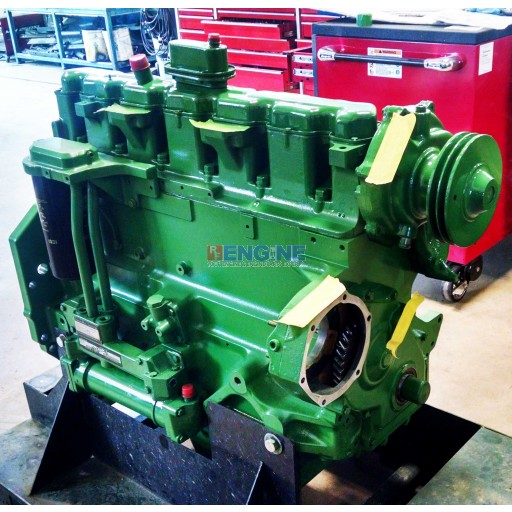 John Deere 6.101 6101 10.1L Engine Long Block