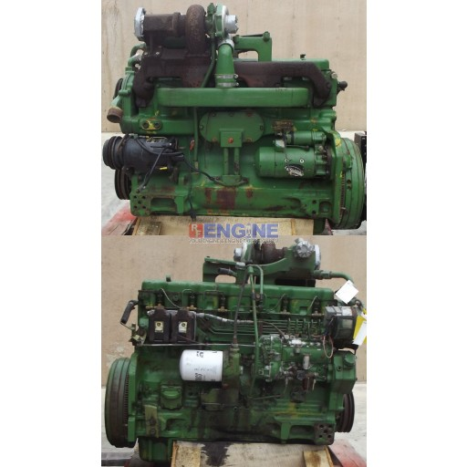 John Deere Engine Good Running 466T 6 Cyl Diesel S/N: 079502RG