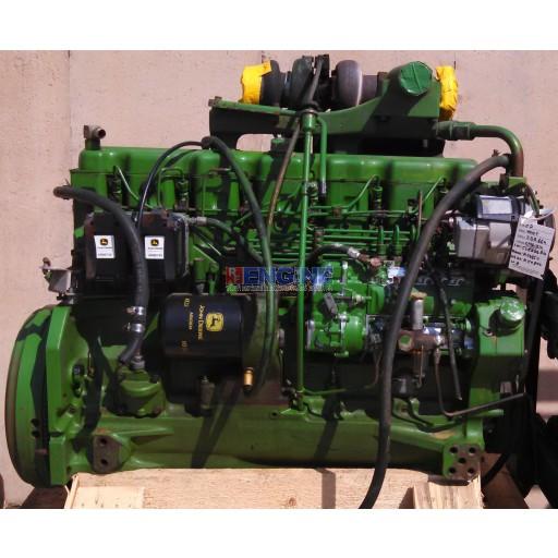 John Deere 404T Engine Good Running S/N: 538888RG BLOCK: R59850 HEAD: R59876