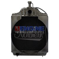 New Radiator CASE/IH  FITS:  580C