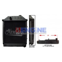 Radiator FORD/NEW HOLLAND TRACTOR FITS: 340, 340A, 340B, 445