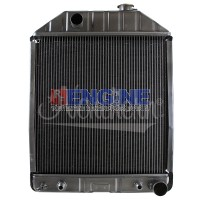 Radiator FORD/NEW HOLLAND FITS: 55, 345C, 445C, 535, 545, 4500, 5100, 5200, 5600, 6600