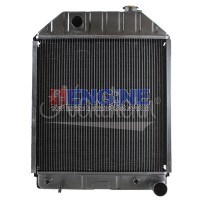 Radiator FORD/NEW HOLLAND TRACTOR FITS: 7000, 7100, 7200