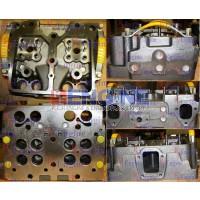 Cylinder Head New Komatsu S6D155-4 SA6D155-4 6 Cyl Diesel