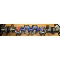 "Mitsubishi Crankshaft Remachined 6D16 7.5L 7T Stroke: 4.52"" Rod: 2.7529-2.7539"""