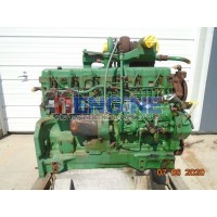John Deere 6.466T Engine Complete Mechanics Special Non Running Core