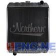 Radiator FORD/ JOHN DEERE FITS: FORD L865, L885, L5180, LX865, LX885, JOHN DEERE 8875