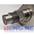 International DT466E, 7.6L, 530, I530E Crankshaft