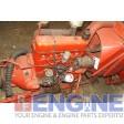 Case Engine Good Running 188G S/N: 2062201 BLOCK: H283 HEAD: G2084 4 Cyl Gas