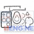 David Brown Gasket Set Lower  AD3/55 K260286  3 Cyl Diesel 1190, 1194; 380