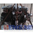 Mitsubish Engine Core 6D34T S/N: 6D34-102406 Turns over,Inline pump  6 Cyl