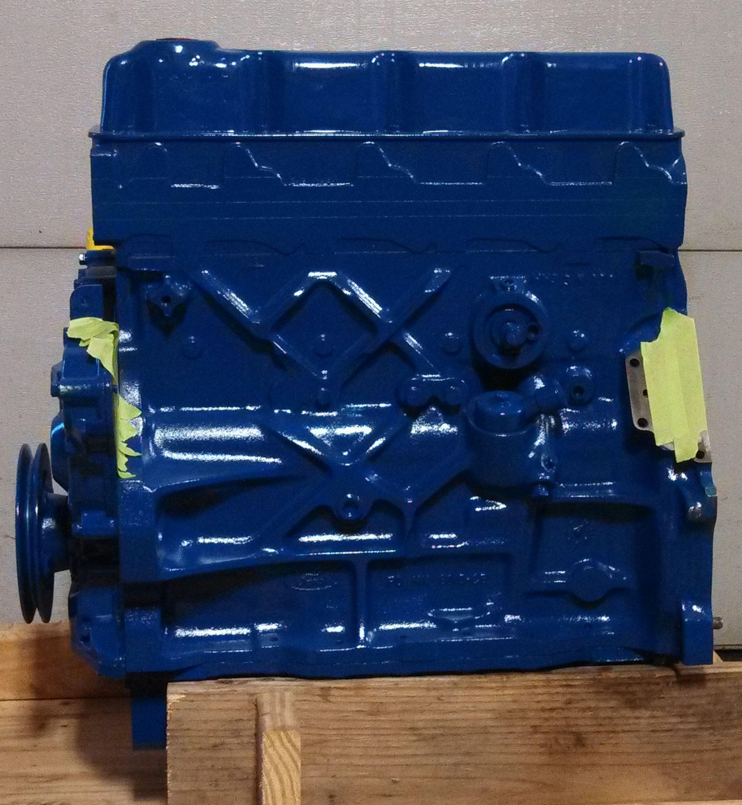 Engine Long Block Reman Ford Newholland 256n 4 Cyl Diesel