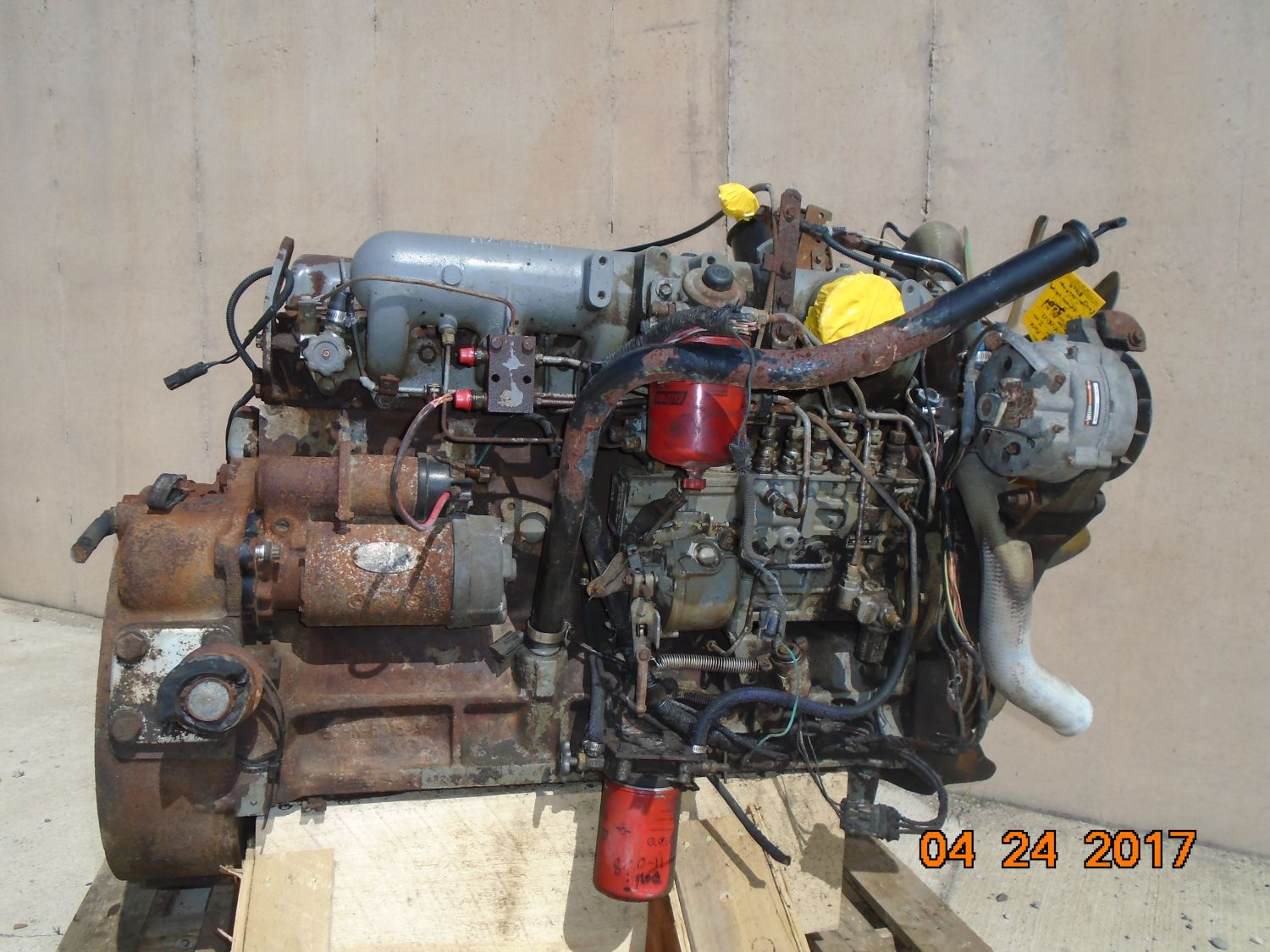 Ford    Newholland Brazilian 7 8l Oem Engine Complete
