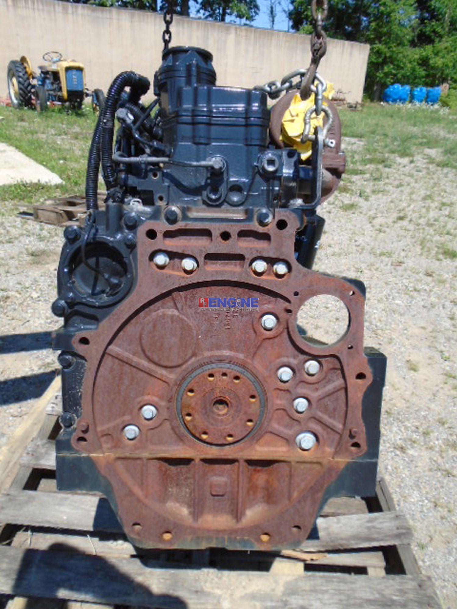 Iveco Nef F4de0684b D  120  6 7l Engine Complete Cranking