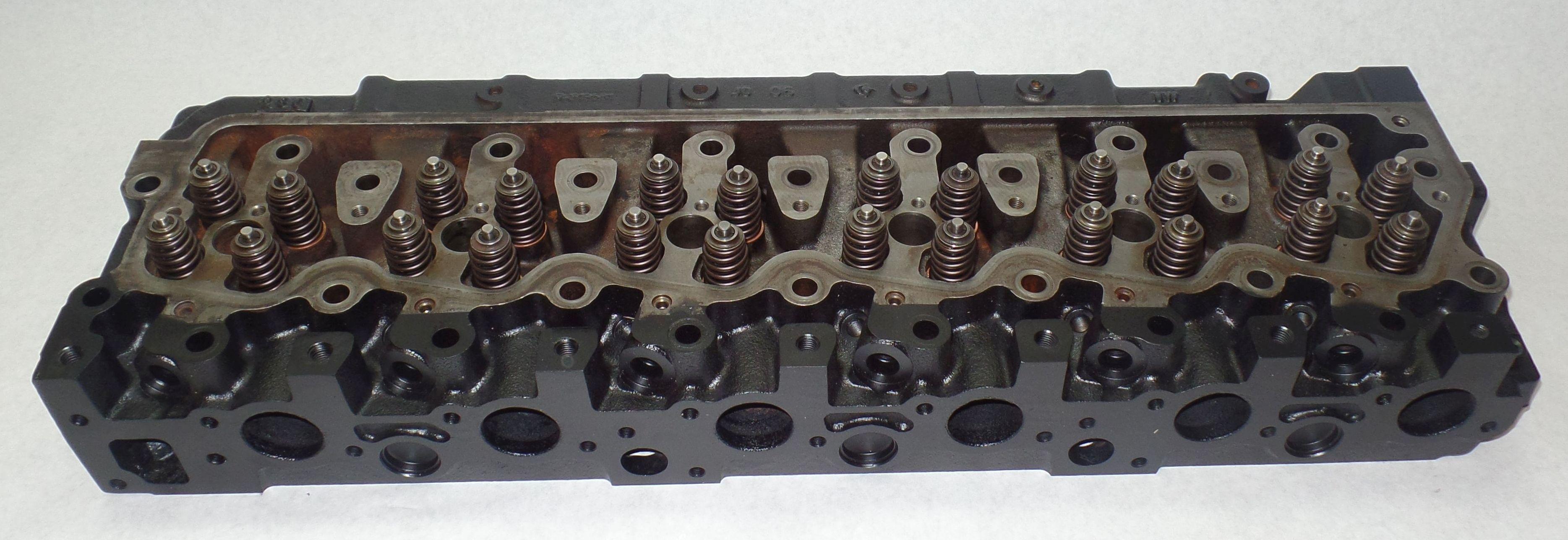 John Deere 4440 Cylinder Head : John deere jd powertech plus v cylinder head