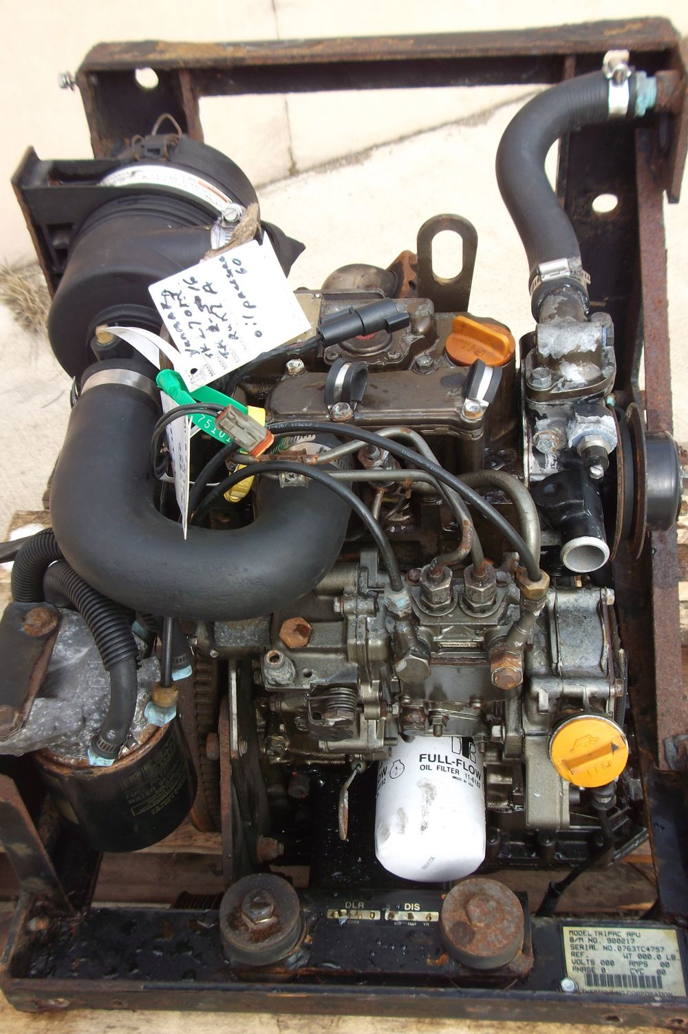 fits yanmar tk270m engine complete thermo