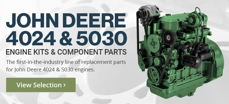 John Deere 4024 & 5030 Overhaul kits