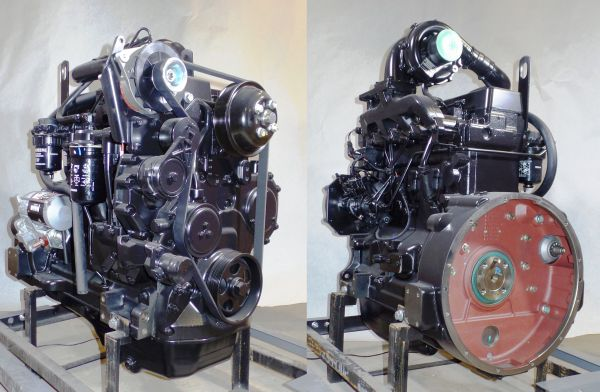 John Deere 4045T Engine