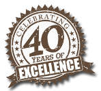 40 Years Excellence